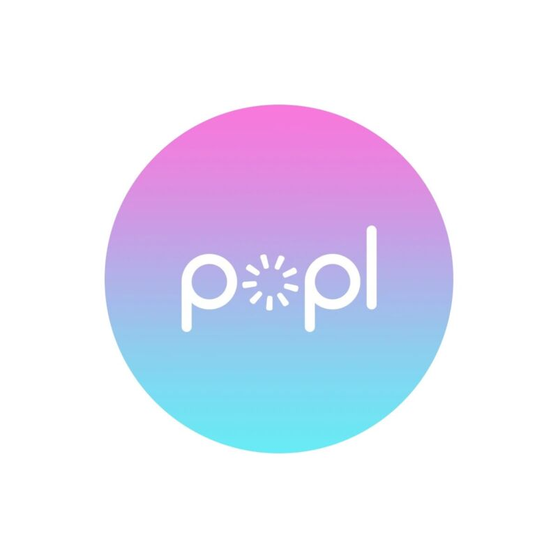 Popl Gradient | Instantly Share Anything! | Popl Direct | NFC Tag