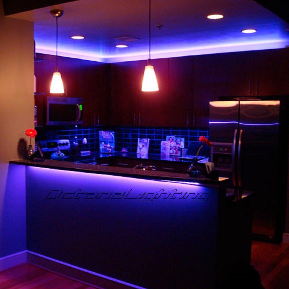 LED RGB Color Changing Bar Dj Rave Dance Pool Table Night