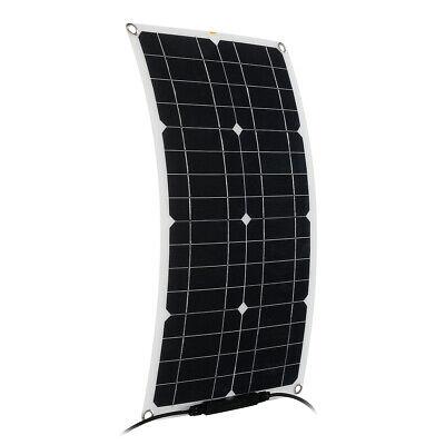 60w 12v Semi-flexible Solar Panels Kit Mc4 Connector Solar Power Panel For Home