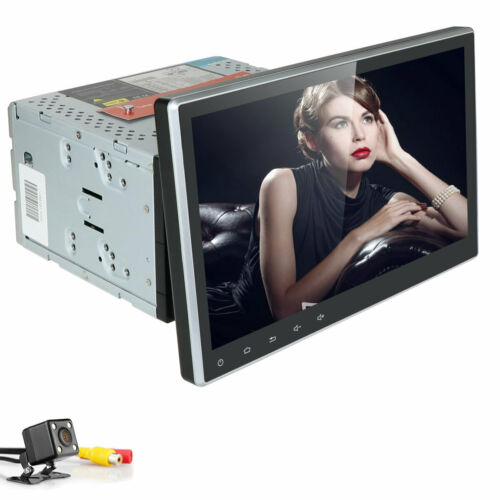 """DSP +Camera 10.1"""" Android 10 4+64GB Double 2 DIN Car DVD Stereo Radio GPS Navi"""