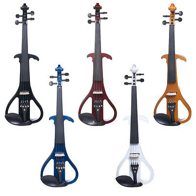 Cecilio Solidwood Electric Silent Violin 3 Size 4 Style