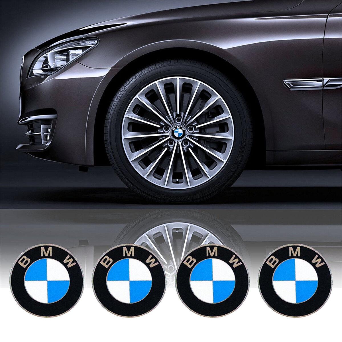 4X BMW 68mm NABENDECKEL RADNABENDECKEL NABENKAPPEN RADKAPPE FELGENDECKEL EMBLEME