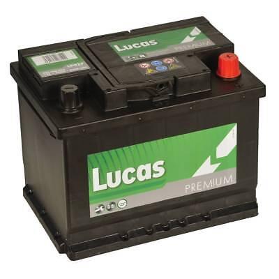 CITROEN PEUGEOT - TYPE 027 Car Battery Lucas LP027 - 12V 60AH 540A - 4Yrs Wrnty