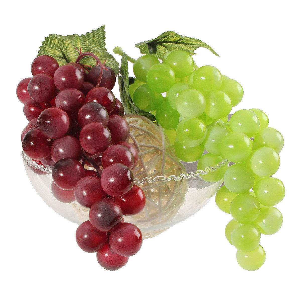 bouquet r aliste artificiel plastique grappes raisin fausse d cor maison jardin eur 1 45. Black Bedroom Furniture Sets. Home Design Ideas