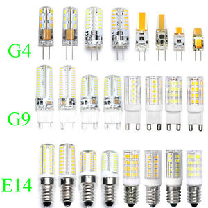 WOW - G4 G9 E14 LED Light Capsule Bulbs Replace Halogen Lamp Energy Saving AC/DC  eBay