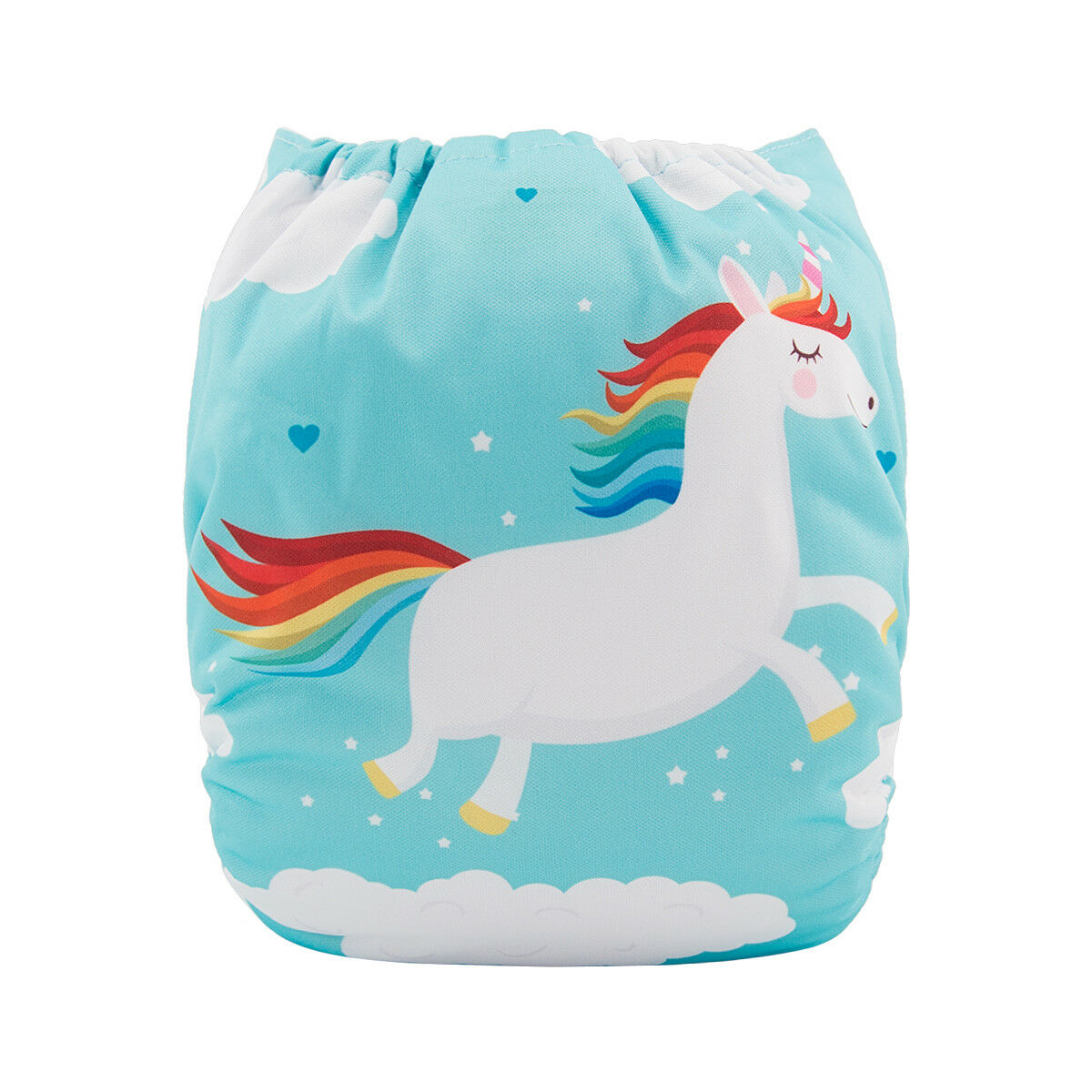 ALVABABY Reusable Baby Cloth Diapers OneSize Washable Pocket Nappies With Insert YD167