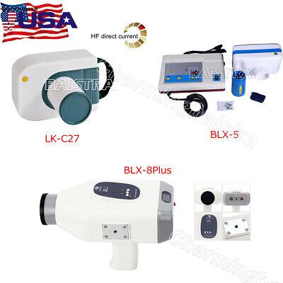 Dental X Ray Machine Portable Mobile Film Imaging Unit Green 30 Khz 3 Model