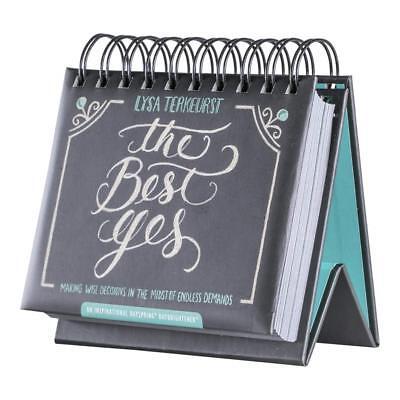 Lysa Terkeurst THE BEST YES Inspirational Daily Flip Perpetual Calendar