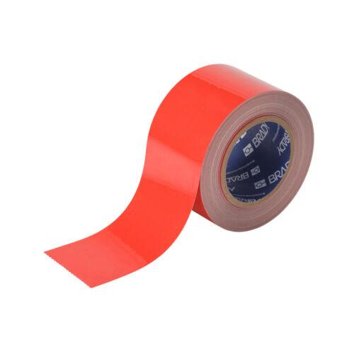 "Brady 104343 Floor Marking Warehouse Tape Red 3"" 100"