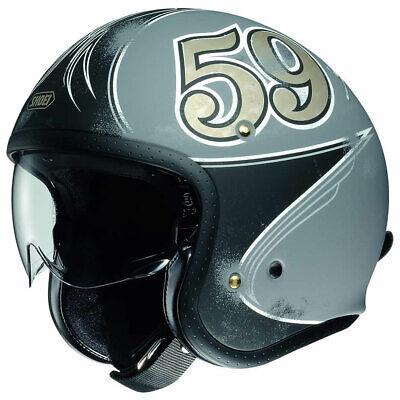 Shoei JO J-O Open Face Jet Retro Urban Motorbike Helmet | All Sizes