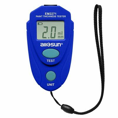 Lcd Digital Auto Painting Coating Thickness Tester Measuring Gauge Meter Usa