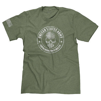 UNITED STATES ARMY DELTA FORCE USA MILITARY APPRECIATION 'MURICA T-SHIRT TEE