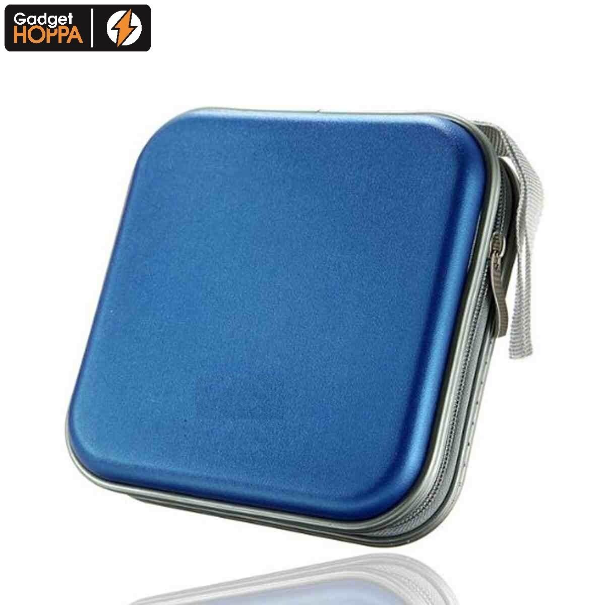 40 Cd Dvd Carry Case Disc Storage Holder Cd Sleeve Wallet