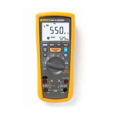Fluke 1587 Fc Insulation Multimeter Insulation Resistance Meter