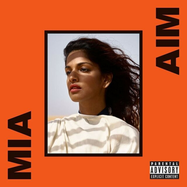 M.I.A. - AIM   CD NEU