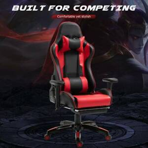 Gaming Chair Office Chair Computer Pu Executive Recliner Back
