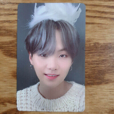 Suga Official Photocard BTS Map Of The Soul : 7 Version 1 Genuine Kpop