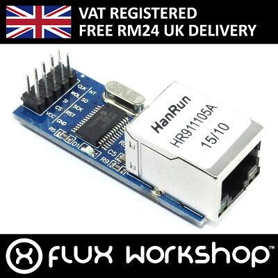 ENC28J60 Ethernet Lan Modulo Arduino Spi Icsp 25Mhz 3.3V uno Mega Flux Officina comprar usado  Enviando para Brazil