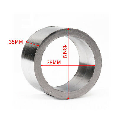 Motorcycle Exhaust Pipe Muffler Graphite Gasket Joint Seal Ring OD48 ID38mm XL