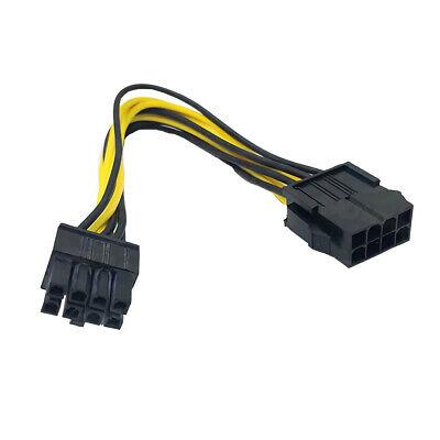 F12 18cm 8Pin auf 8Pin PCIE PCI Express Grafikkarte CPU Stromkabel Adapter Kabel