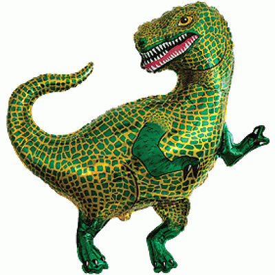 "Tyrannosaurus Rex T-Rex T Rex Dinosaur 33"" Supershape Foil Balloon Decoration for sale  United Kingdom"