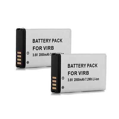 2000Mah Gps Battery For Garmin Montana Alpha 010 11654 03 Virb 600 600T 650 650T
