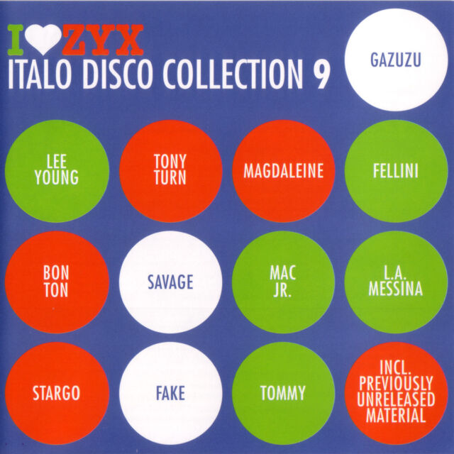 CD ZYX Italo Disco Collection 9 von Various Artists 3CDs