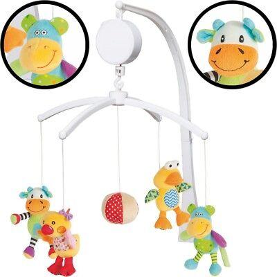 FILLIKID Musikmobile Baby Mobile Musikuhr Spieluhr Einschlafhilfe für Kinderbett