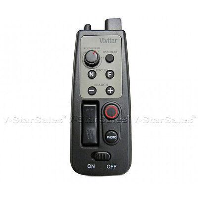 Vivitar 8 Button Remote Zoom Control for Camcorder w/ LANC o