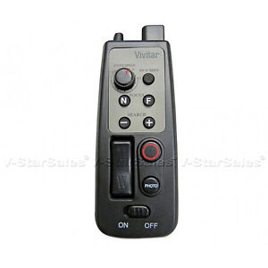Vivitar-8-Button-Remote-Zoom-Control-for-Camcorder-w-LANC-or-A-V-R-Jack