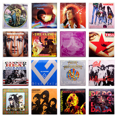 """Pick Any 7"""" - Multiple Discounts 700+ Rock Punk Indie Synth Pop - Demo Promo 45"""