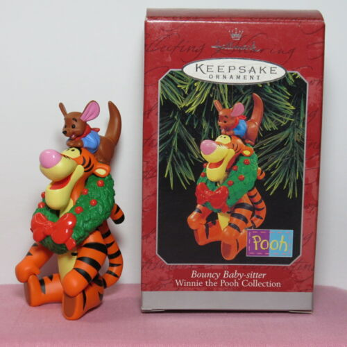 Hallmark 1998 Ornament Bouncy Baby-Sitter Disney Winnie The Pooh Collection