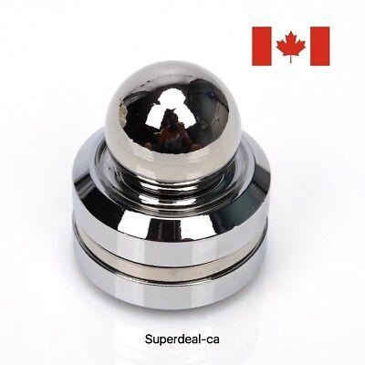 Orbiter Fidget Spinner Magnetic Orbit Ball Hand Spinner - Sliver