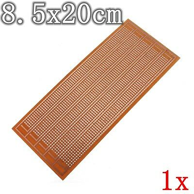 Diy Pcb Prototype Printed Circuit Board Matrix Stripboard Universal 8.5x20cm New