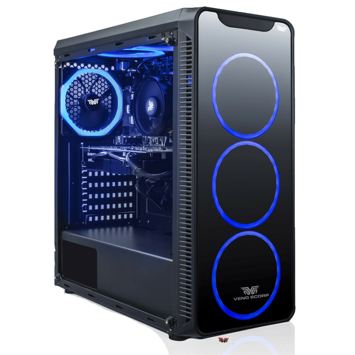 Computer Games - ULTRA FAST i3 i5 i7 Gaming Computer PC 2TB + SSD 16GB RAM GTX 1660 Win10, 6FANS