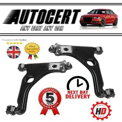 VAUXHALL ZAFIRA 1998-2005 FRONT LOWER SUSPENSION CONTROL ARMS / WISHBONES L + R