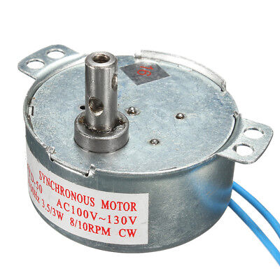 Synchronous Motor 810rpm Cwccw Tyd-50 Ac 110v 3w Low Noise Robust Torque Motor