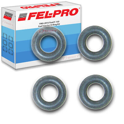 Fel-Pro Fuel Injector O-Ring Kit for 1985-2015 Ford F-150 FelPro - Service mu Ford Fuel Injector O-ring