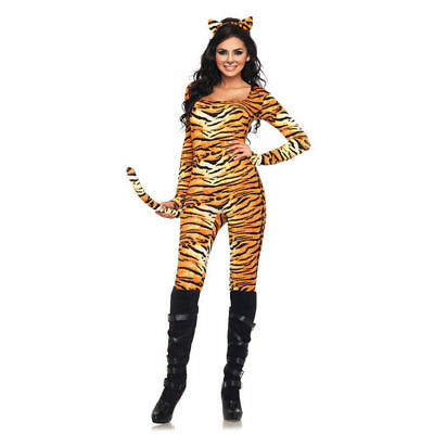 Wild Tigress Jungle Safari Cat Sexy Adult Costume - Wild Tigress Kostüm