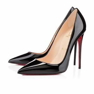 Christian Louboutin 'So Kate' black patent leather high heels 39 Potts Point Inner Sydney Preview