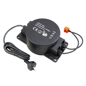 400W 12V Outdoor Rated Transformer for Garden Lighting DIY Weather Proof IP66