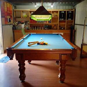 Professional Brunswick 9ft Pool Snooker Billiard table with Light Reservoir Darebin Area Preview