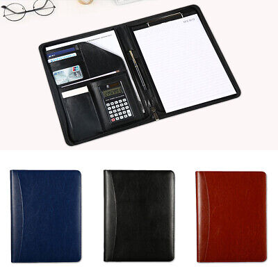 Executive Folder - A4 Zipped Conference Folder Executive Portfolio Case Business Document Organiser