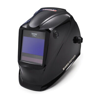 Lincoln Viking 2450 Black Auto Darkening Welding Helmet W4c Lens K3028-4