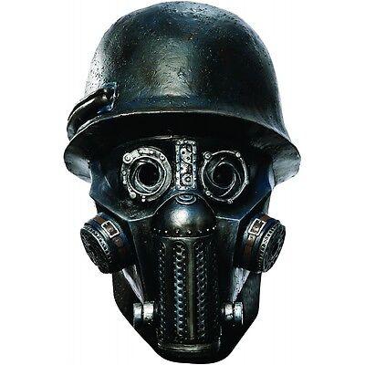 Zombie Soldier Gas Mask Adult Sucker Punch Halloween Costume Fancy - Zombie Soldier