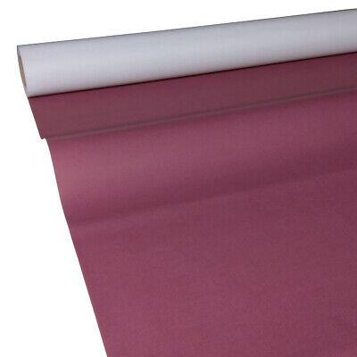 0,50€/m² 50m x 1,15m bordeaux-rot weinrot JUNOPAX Papiertischdecke Tischtuch