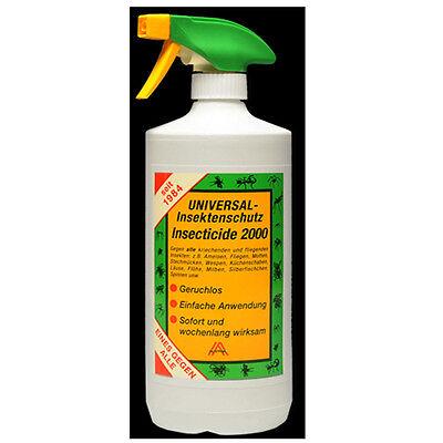 Zeckenschutz - Insecticide 2000 - Universal Insektenschutz - 1Liter
