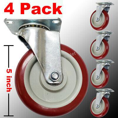 """Faultless Swivel Plate Caster  8/""""x1-3//4/"""" Wheel Heavy Duty FREE SHIPPING"""
