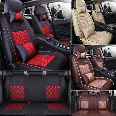 Seat Summer Cover (Car Seat Cover Cushion Protector Summer Beads/Mesh For Sedan SUV Cooling Comfy )