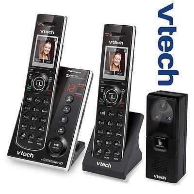 Vtech IS7121-2 Audio Video Doorbell Camera 2 Handset Answering Phone System